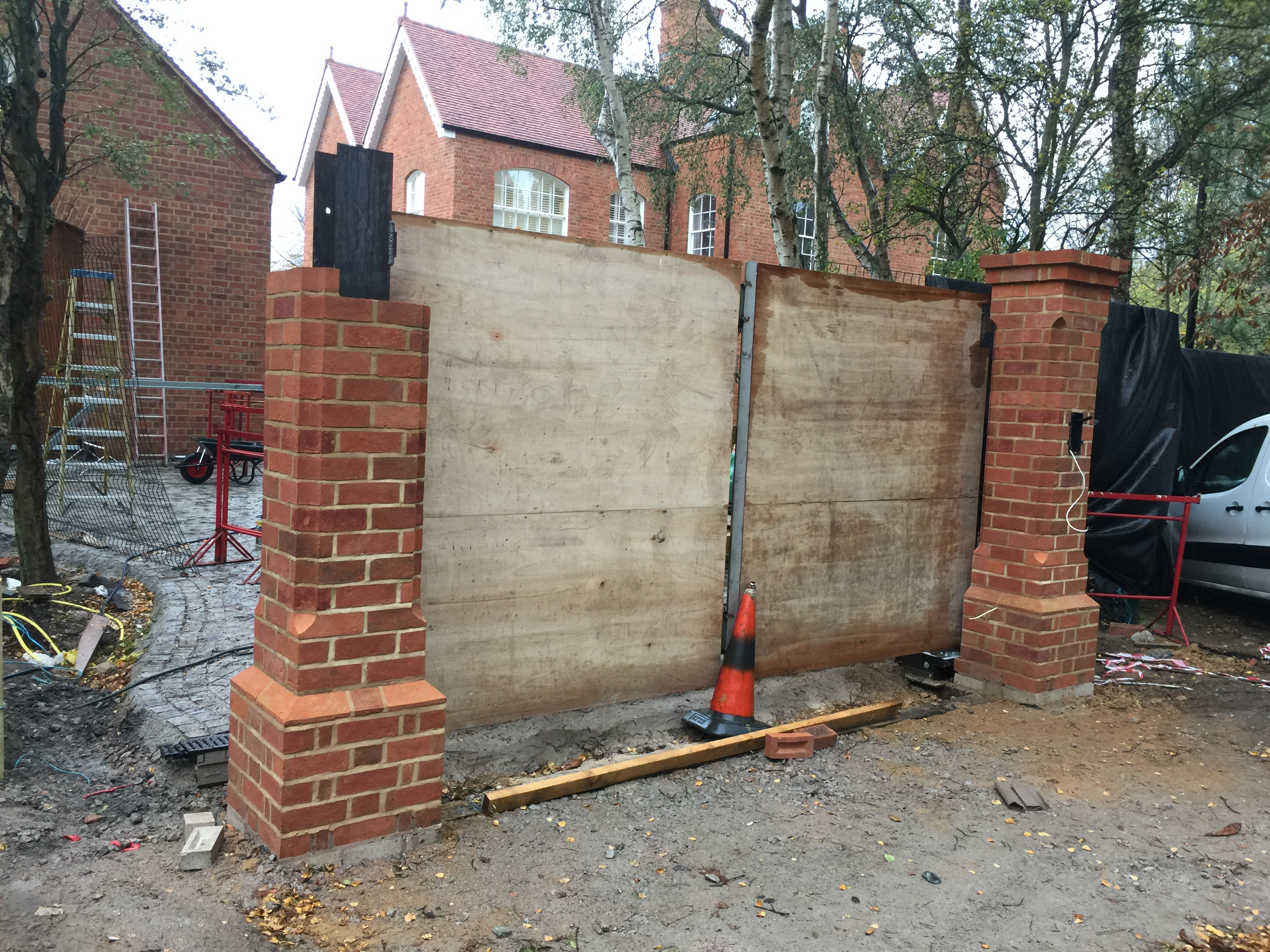 Recent Gate And Automation Project In Formby Henderson