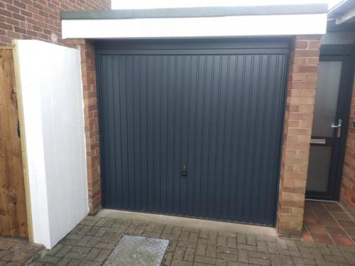 Up and Over Door in Anthracite