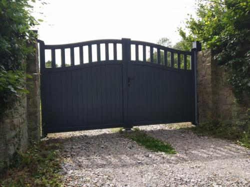 Aluminium Manual Gate