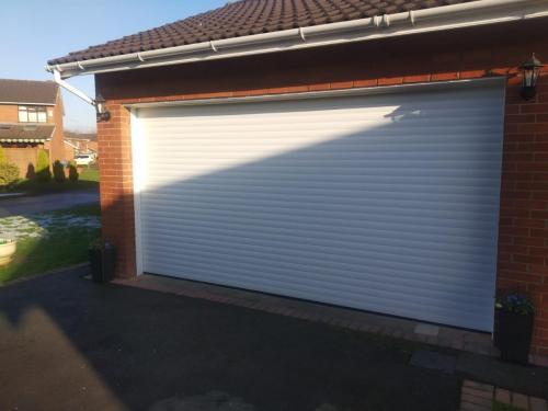 Insulated Roller Shutter Garage Door