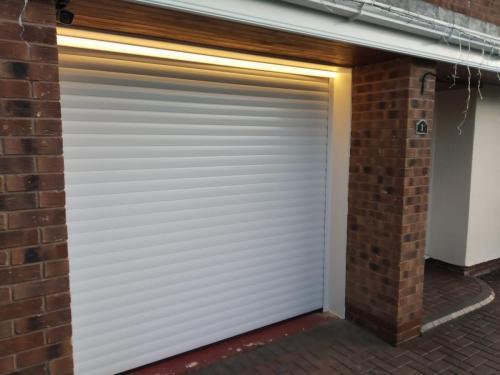 InsulatedRoller Shutter Garage Door