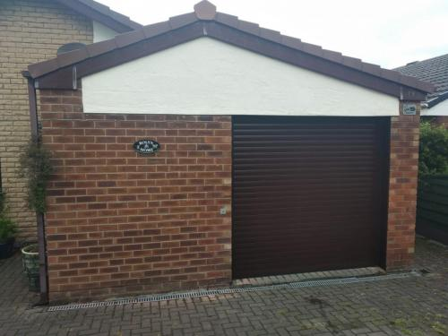 Insulated Roller Shutter Garage Door